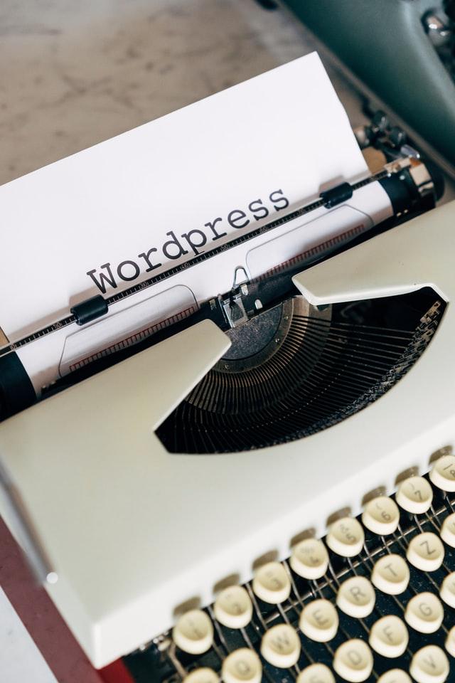 WordPress website page from a best web development company in London's website
