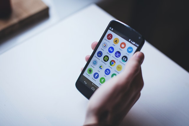 Android App Development mobile screen